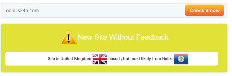 Edpills24h.com Trust Rating