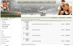 Muscle-steroids.com Main Page